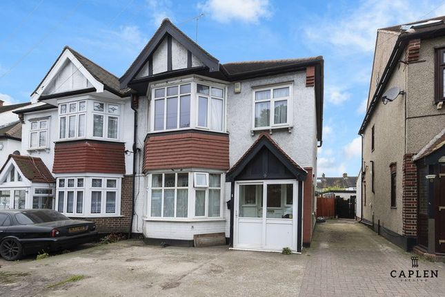 Thumbnail Semi-detached house for sale in Woodlands Gardens, Woodford New Road, London