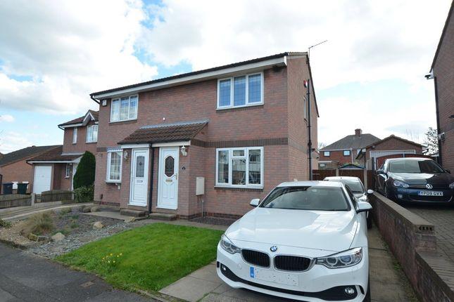 Thumbnail Semi-detached house for sale in Lambe Flatt, Darton, Barnsley
