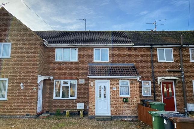 Thumbnail Terraced house for sale in West Glebe Road, Corby, Northamptonshire