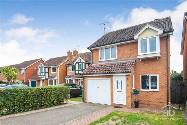 Thumbnail Detached house for sale in Tallboys Close, Grange Farm, Kesgrave, Ipswich