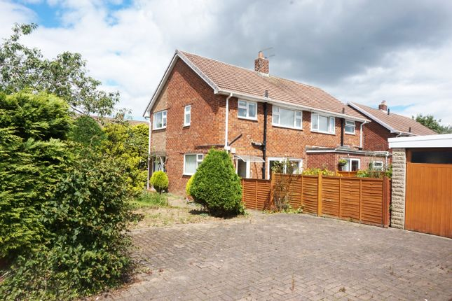 Semi-detached house for sale in Bracken Road, Stockton-On-Tees