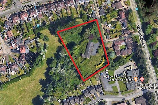 Thumbnail Land for sale in Harborough Road, Kingsthorpe, Northampton