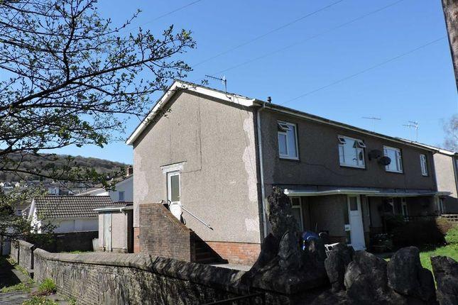 Thumbnail Flat for sale in Glanyrafon Road, Ystalyfera, Swansea