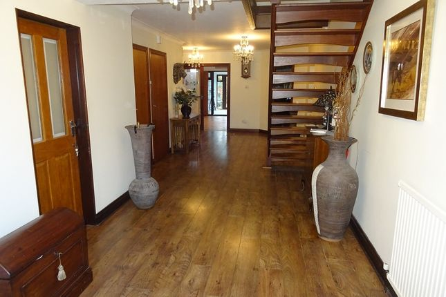 Entrance Hall of Springvale, Wigmore, Kent. ME8