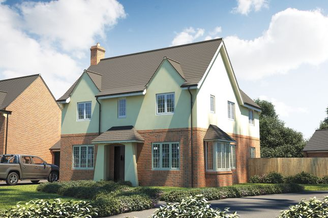 "Thumbnail Detached house for sale in ""The Osterley"" at Roman Road, Bobblestock, Hereford"