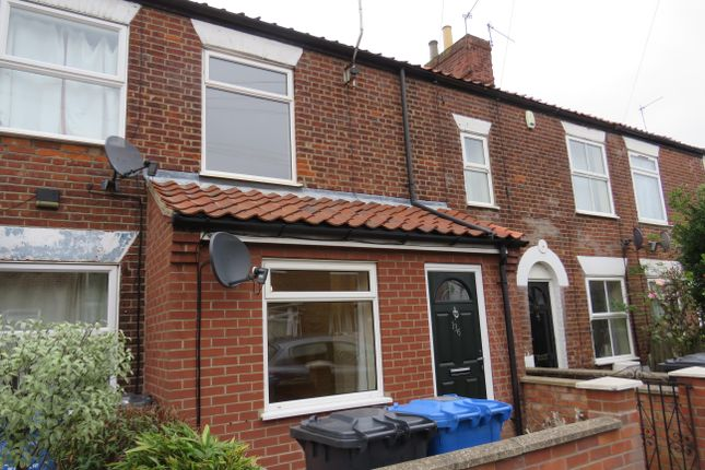 Thumbnail Terraced house to rent in Armes Street, Norwich