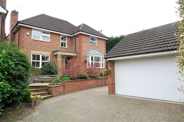 Thumbnail Detached house for sale in Pavilion Way, Congleton