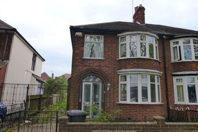 Thumbnail Semi-detached house to rent in Abbey Lane, Leicester, Leicestershire