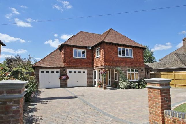 Thumbnail Detached house for sale in Bridge Road, Cranleigh