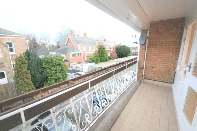 Balcony of Selmeston Court, Grimsby DN34