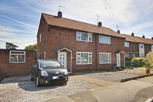 Thumbnail Semi-detached house for sale in 66 Burden Road, Beverley