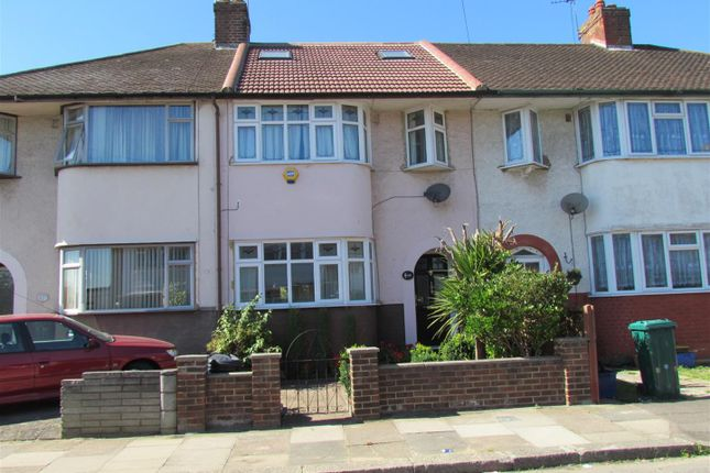 Thumbnail Terraced house for sale in Somerville Road, Chadwell Heath, Romford