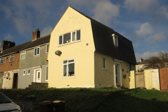 Thumbnail End terrace house for sale in Mirador Place, Plymouth