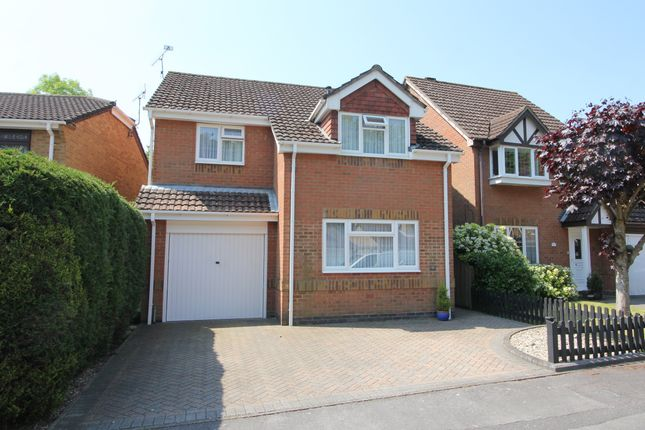 Thumbnail Detached house for sale in Pudbrooke Gardens, Hedge End, Southampton