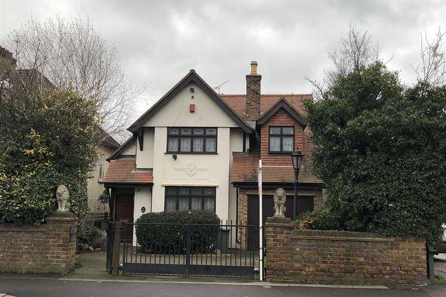 Thumbnail Detached house to rent in Hospital Crescent, Gubbins Lane, Harold Wood, Romford
