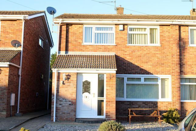 Thumbnail Semi-detached house to rent in Sotterley Road, Lowestoft