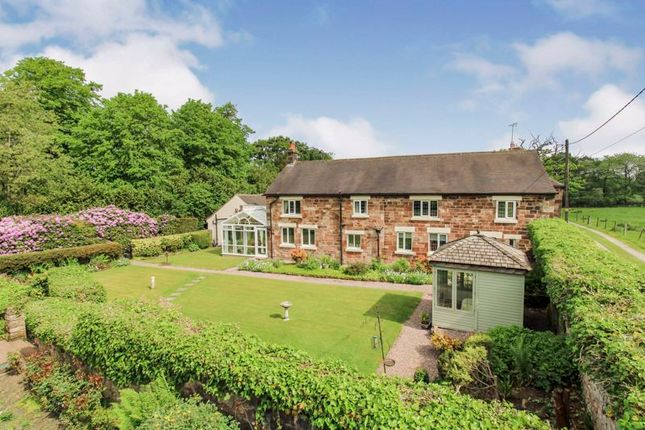 Thumbnail Detached house for sale in Abbey Road, Wetley Rocks
