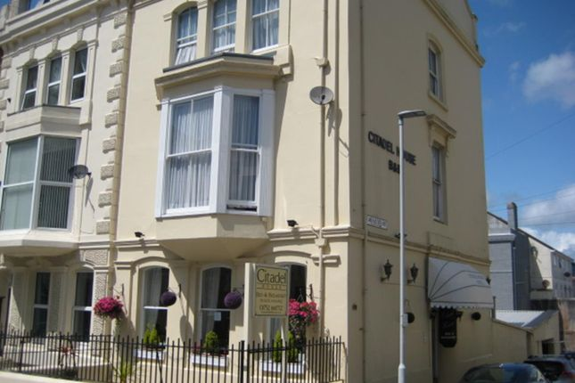 Thumbnail Hotel/guest house for sale in 55 Citadel Road, Plymouth, Devon