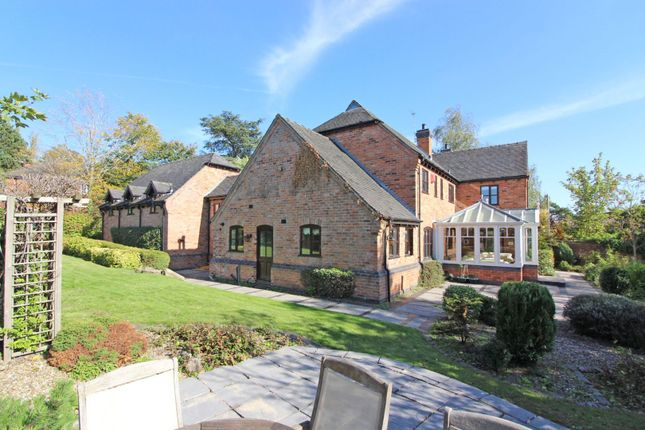 Thumbnail Detached house for sale in Wightwick Bank, Wightwick, Wolverhampton