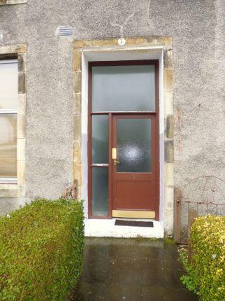 Entrance of Flat 2/2, 3, The Terrace, Ardbeg, Rothesay, Isle Of Bute PA20