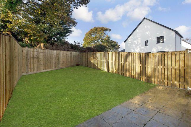 Rear Garden of Evans Field, Budleigh Salterton EX9