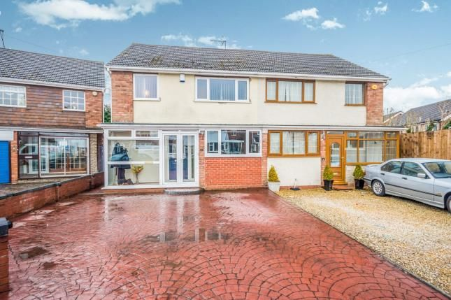 Thumbnail Semi-detached house for sale in Caernarvon Close, Short Heath, Willenhall, West Midlands