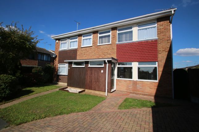 Thumbnail Semi-detached house for sale in Cornwall Gardens, Ashingdon, Rochford
