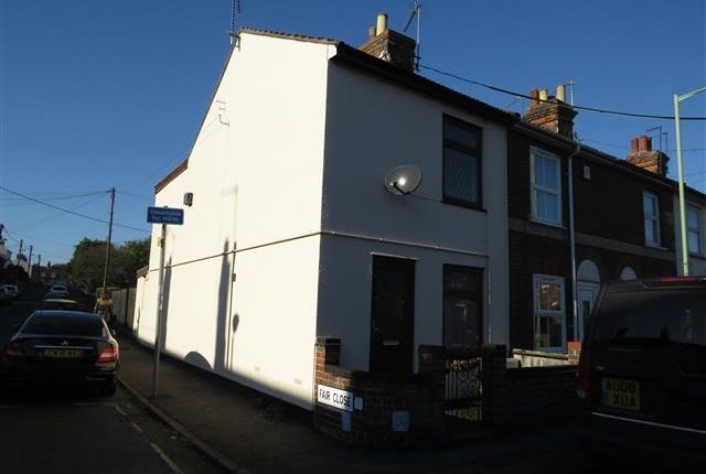 Thumbnail End terrace house to rent in Gosford Road, Beccles