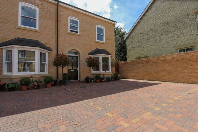 Thumbnail End terrace house for sale in White Hart Lane, Soham, Ely