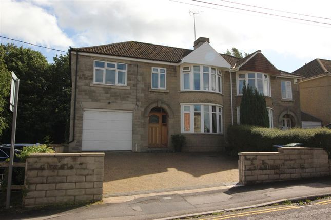 Thumbnail Semi-detached house for sale in Spanbourn Avenue, Chippenham