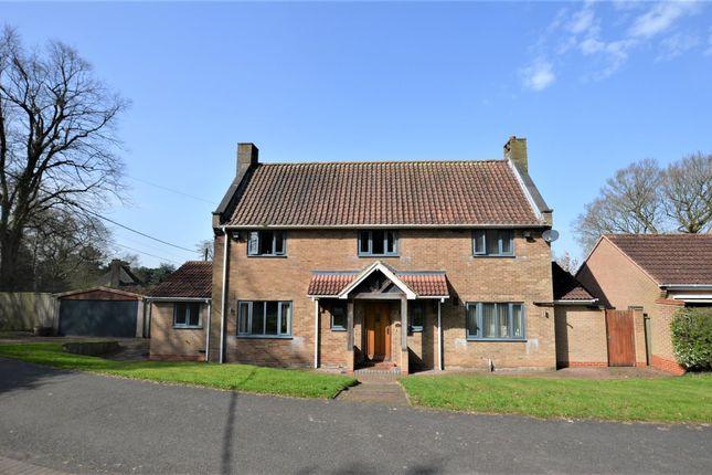 Thumbnail Detached house for sale in Bladon Houses, Newton Solney, Burton-On-Trent