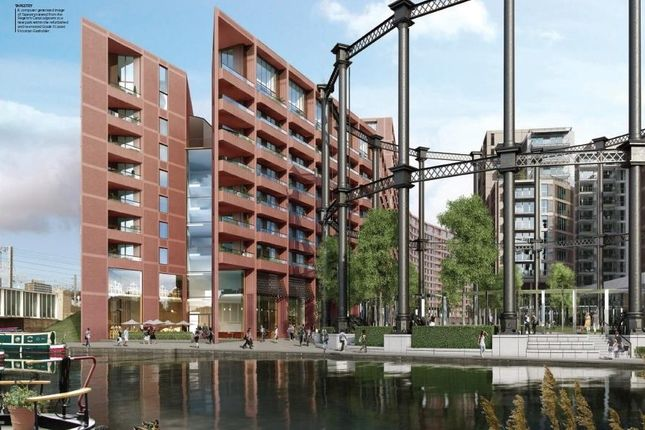 Thumbnail Flat for sale in Tapestry, Canal Road, Kings Cross, London