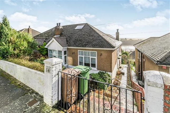 Thumbnail Semi-detached bungalow for sale in Fairview Avenue, Laira, Plymouth