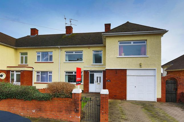 Thumbnail Semi-detached house for sale in Barons Court Road, Penylan, Cardiff