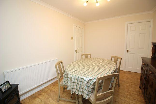 Dining Room of Lark Rise, Brackla, Bridgend County. CF31