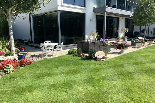 Garden of Canford Heights, 6 Haig Avenue, Canford Cliffs, Poole BH13