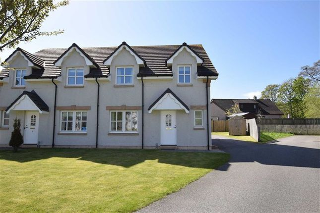 Thumbnail Semi-detached house for sale in Bridgend Close, Dingwall, Ross-Shire