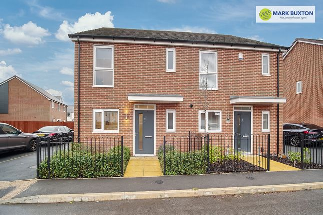 Thumbnail Semi-detached house for sale in James Grundy Avenue, Trentham Manor, Stoke On Trent