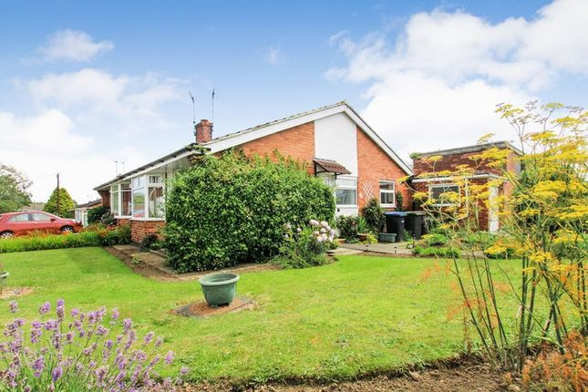 Thumbnail Semi Detached Bungalow For Sale In York Crescent, Newton Hall,  Durham