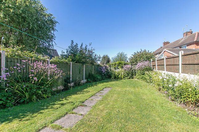 Garden of Brookfield Road, Arnold, Nottingham NG5