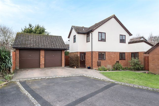 Thumbnail Detached house for sale in Pettys Brook Road, Chineham, Basingstoke, Hampshire