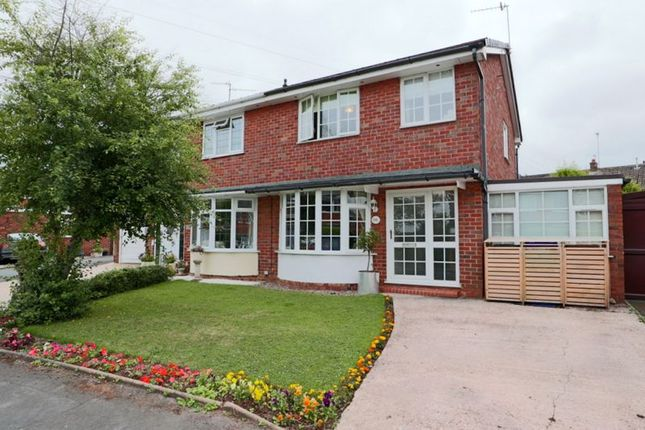 Thumbnail Semi-detached house for sale in Meadow Lane, Trentham, Stoke-On-Trent