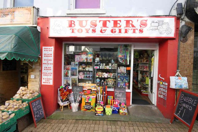 Retail premises for sale in Fore Street, Brixham