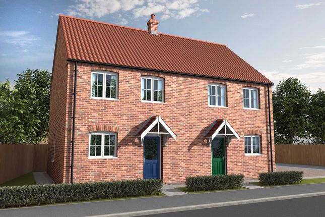Thumbnail Semi-detached house for sale in Curtis Drive, Coningsby, Lincolnshire