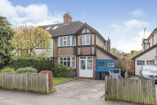 Thumbnail Semi-detached house for sale in King Charles Road, Surbiton