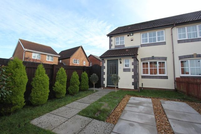 Thumbnail Semi-detached house for sale in Ael-Y-Coed, Barry