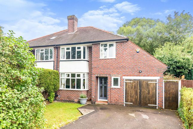Thumbnail Semi-detached house for sale in Maxstoke Road, Sutton Coldfield