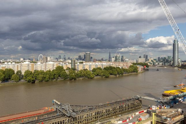 3 bed flat for sale in Scott House, Battersea Power Station, Circus Road West, London