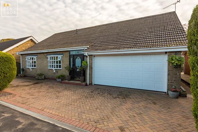 Thumbnail Detached bungalow for sale in Mill Hill Drive, Bottesford, Scunthorpe