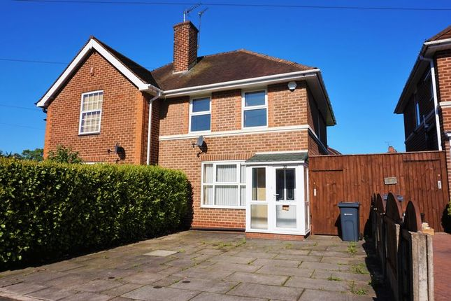 3 bed semi-detached house for sale in Earls Court Road, Harborne, Birmingham